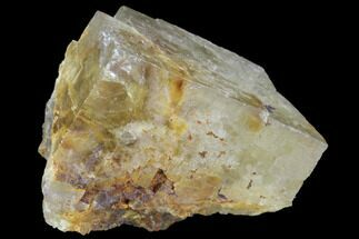 "Buy 1.3"" Yellow-Green, Cubic Fluorite Crystal - Morocco - #92254"