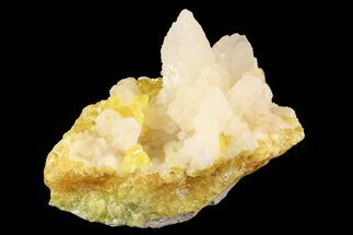 "2.9"" Sulfur and Celestite Crystal Association - Italy For Sale, #93653"