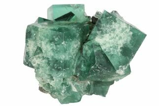"1.5"" Fluorite Crystal Cluster -  Rogerley Mine For Sale, #94529"