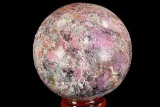 "2.15"" Polished Cobaltoan Calcite Sphere - Congo For Sale, #95012"