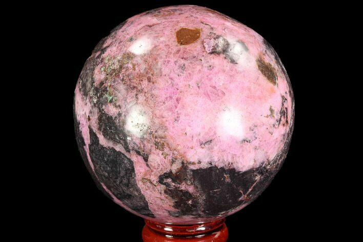 "2.5"" Polished Cobaltoan Calcite Sphere - Congo"
