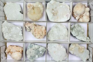 Buy Mixed Indian Mineral & Crystal Flat - 12 Pieces - #95614