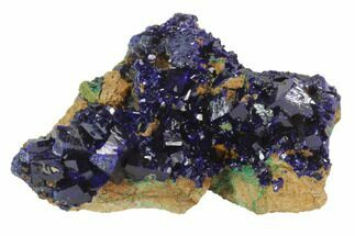"2.15"" Large, Sparkling Azurite Crystals - Laos For Sale, #95801"