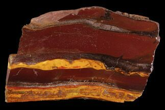 "3.7"" Polished ""Desert Sunset"" Banded Iron - Western Australia For Sale, #96236"