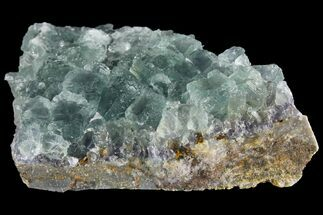 "3.4"" Green Fluorite Crystal Cluster - China For Sale, #96044"