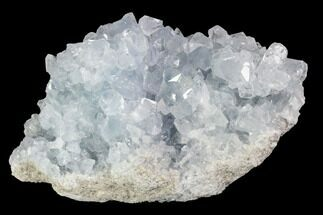 "Buy 3.3"" Sky Blue Celestite Crystal Cluster - Madagascar - #96874"