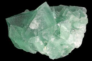 "2.5"" Green Fluorite Crystal Cluster - China For Sale, #98078"