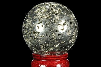 "2.25"" Polished Pyrite Sphere - Peru For Sale, #98003"