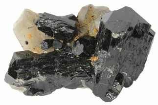 Buy 2.7 Black Tourmaline (Schorl) & Smoky Quartz - Namibia - #96583