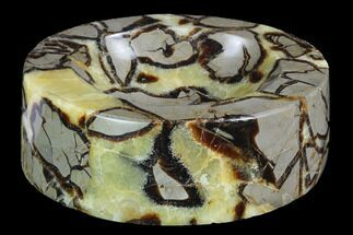 "Buy 6.2"" Polished Septarian Dish - Madagascar - #98275"