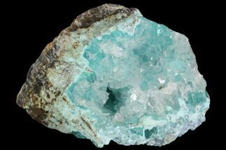 Quartz & Chrysocolla - Fossils For Sale - #98088