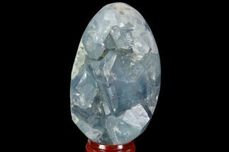 "2.8"" Crystal Filled Celestite ""Egg"" Geode - Madagascar For Sale, #98813"