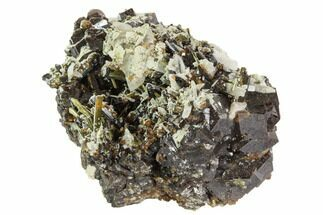 Garnet, Epidote, Calcite & Feldspar - Fossils For Sale - #100428