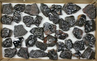 Buy Wholesale Lot: Kidney Ore (Botryoidal Hematite) - 38 Pieces - #103648