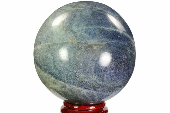 "6.3"" Polished Lazurite Sphere - Madagascar"