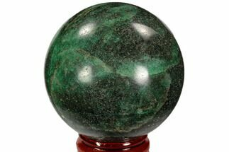 "2.1"" Polished Fuchsite Sphere - Madagascar For Sale, #104231"