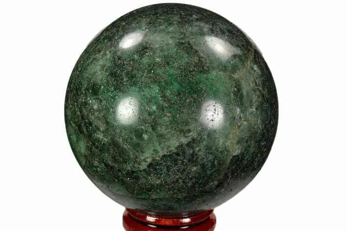 "2.5"" Polished Fuchsite Sphere - Madagascar"