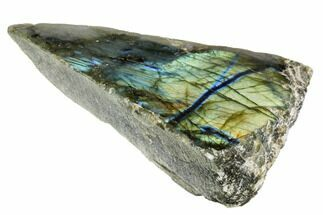 "Buy 3.8"" Wide, Single Side Polished Labradorite - Madagascar - #104824"