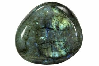 "Buy 3.3"" Flashy, Polished Labradorite Pebble - Madagascar - #105919"
