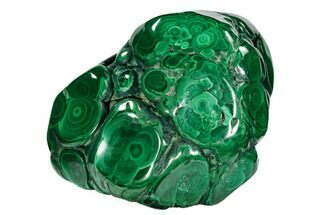 "4.1"" Polished Malachite Specimen - Congo For Sale, #106235"