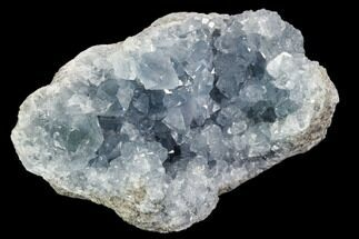 "3.4"" Sky Blue Celestine (Celestite) Geode - Madagascar For Sale, #106682"