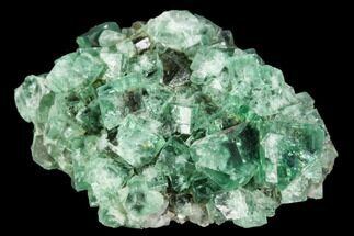 "1.95"" Fluorite Crystal Cluster -  Rogerley Mine For Sale, #106100"