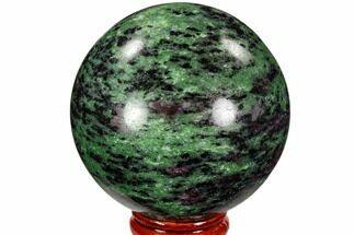 "Buy 2.5"" Polished Ruby Zoisite Sphere - Tanzania - #107230"