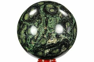 "Buy 3.5"" Polished Kambaba Jasper Sphere - Madagascar - #107287"