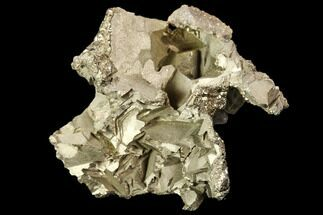 Pyrite, Barite & Quartz - Fossils For Sale - #107919