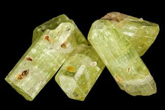"Buy Five Yellow Apatite Crystals (.5"" - 1"") - 5 Pieces - #108361"