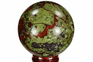 "2.35"" Polished Dragon's Blood Jasper Sphere - South Africa For Sale, #108557"