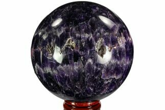 "Buy 2.95"" Polished Chevron Amethyst Sphere - Morocco - #110245"