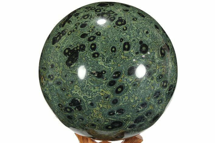 "Huge, 7.4"" Polished Kambaba Jasper Sphere (22.5 lbs) - Madagascar"