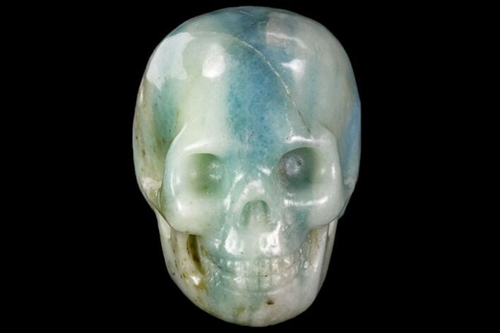 "1.9"" Polished Blue Calcite Skull"