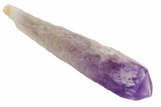 "3"" Natural, Amethyst Crystal Point - 1 Point For Sale, #114527"