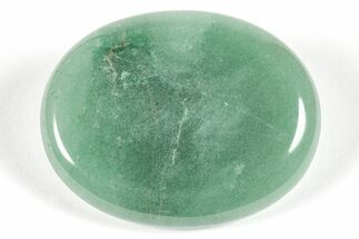 "2"" Polished Green Aventurine Worry Stone  For Sale, #115373"