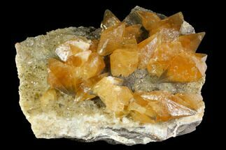 "Buy Gorgeous, 14.2"" Golden Beam Calcite Crystal Cluster - Morocco - #115207"