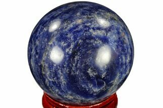 "Buy 1.6"" Polished Sodalite Sphere - Africa - #116149"