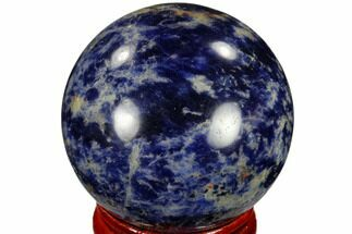 "1.6"" Polished Sodalite Sphere - Africa For Sale, #116150"
