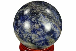 "1.6"" Polished Sodalite Sphere - Africa For Sale, #116153"