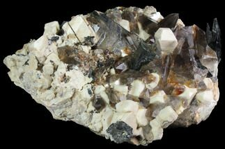 "8.9"" Smoky Quartz, Orthoclase and Aegirine Association - Malawi For Sale, #117506"