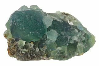 "2.8"" Blue-Green Stepped Fluorite Crystal Cluster - China For Sale, #120326"