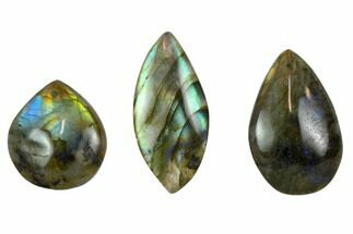 Buy Wholesale Lot: Polished Labradorite Pendants - 100 Pieces - #121153