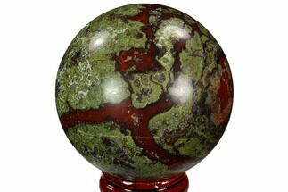 "Buy 2.25"" Polished Dragon's Blood Jasper Sphere - South Africa - #121585"