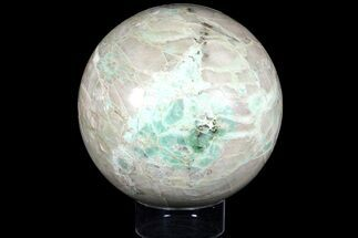 "Huge, 8.5"" Polished Garnierite Sphere - 31 lbs For Sale, #121949"
