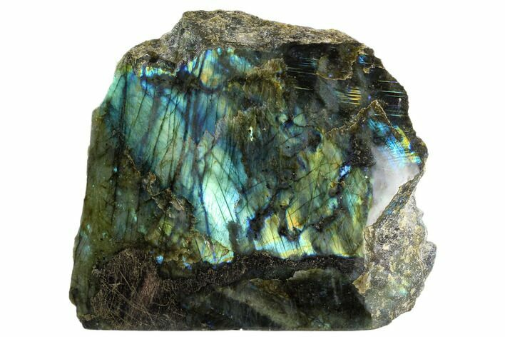 "9.4"" Wide, Single Side Polished Labradorite"