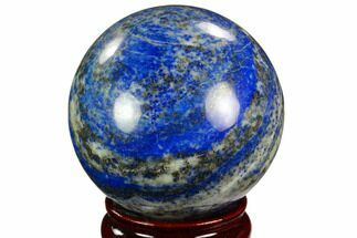 "2.95"" Polished Lapis Lazuli Sphere - Pakistan For Sale, #123455"