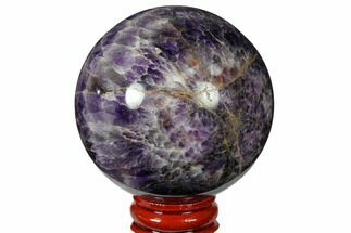 "Buy 2.45"" Polished Chevron Amethyst Sphere - #124507"