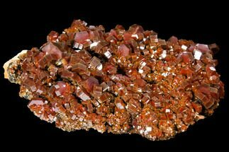 "Buy 4.6"" Gorgeous, Ruby Red Vanadinite Crystal Cluster - Morocco - #127660"