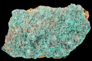 "2"" Calcite Encrusted Fibrous Aurichalcite Crystals - Mexico For Sale, #127241"